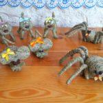 Figurki z siana
